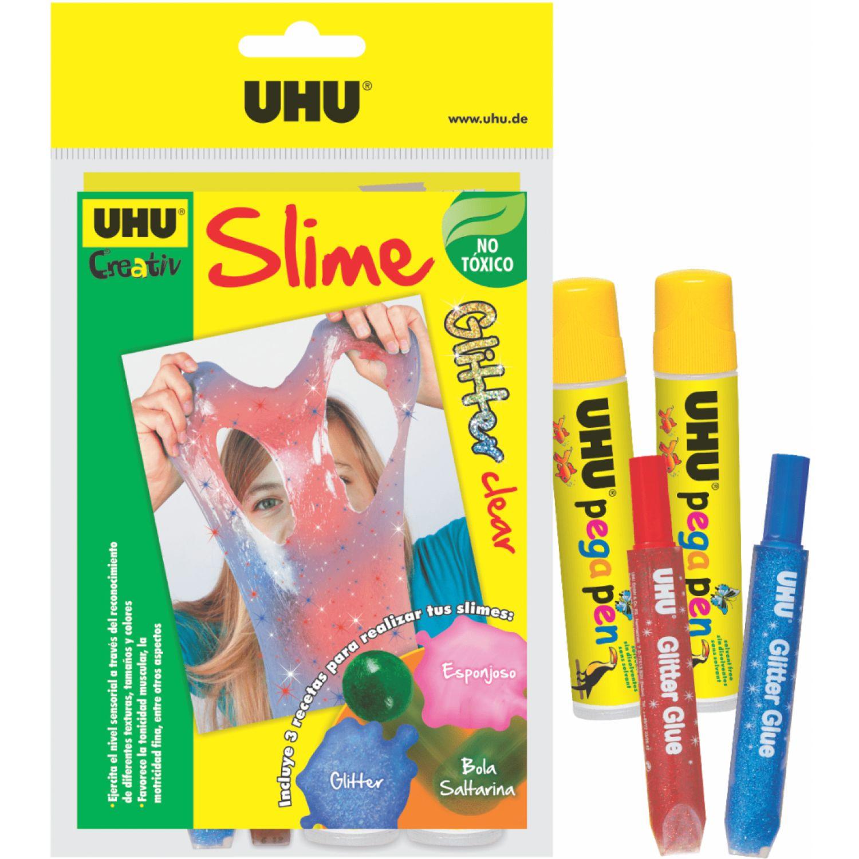 Uhu Uhu Slime Glitter Clear