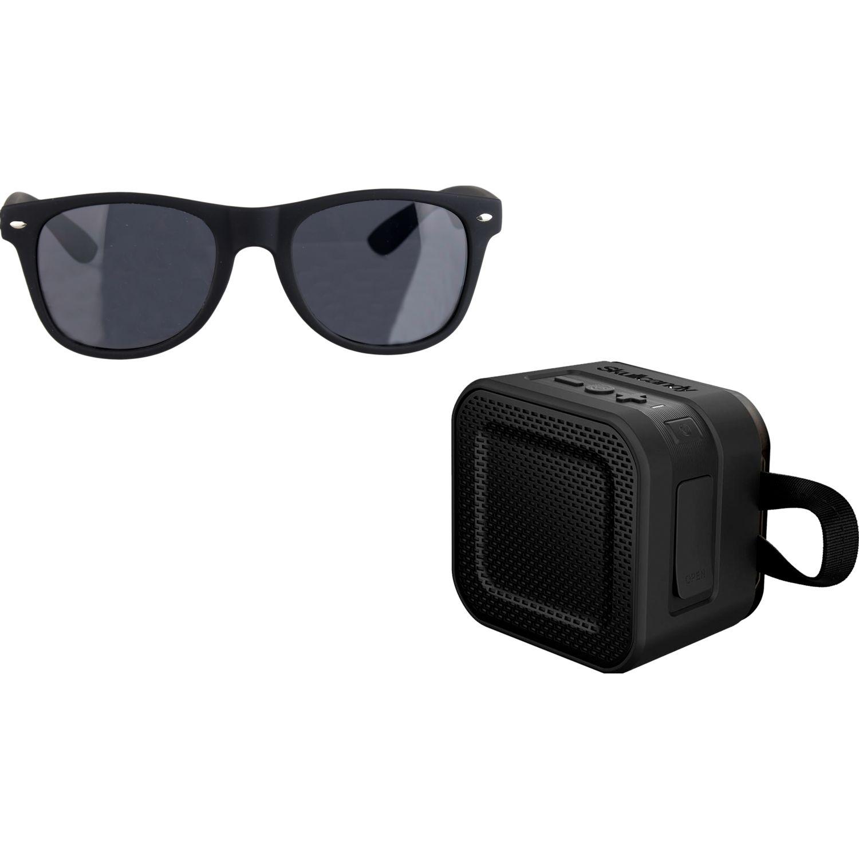 Skullcandy parlante barricade mini black +  lente skyd Negro Altavoces Bluetooth portátiles