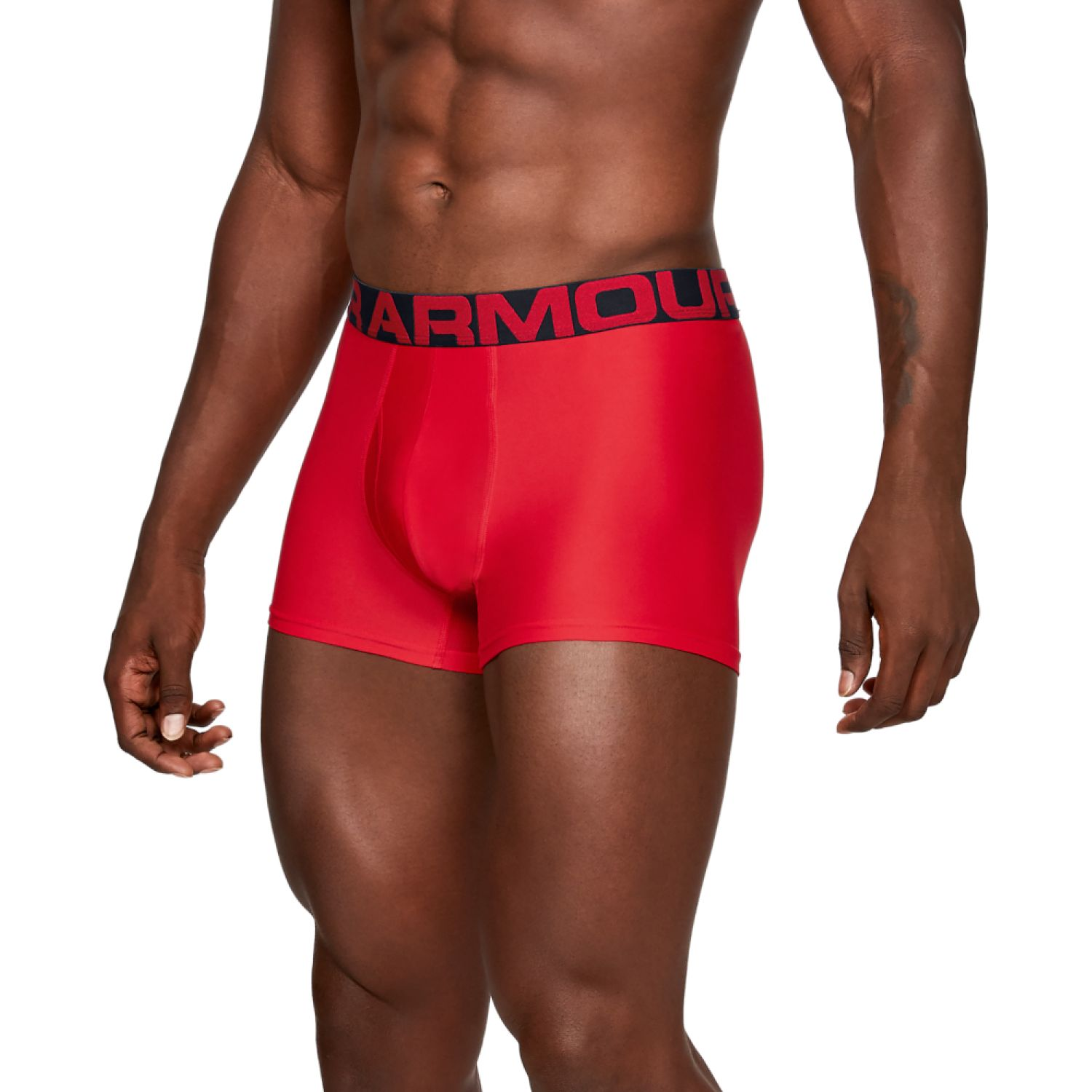 Under Armour Tech 3in 2 Pack Rojo / negro Boxers