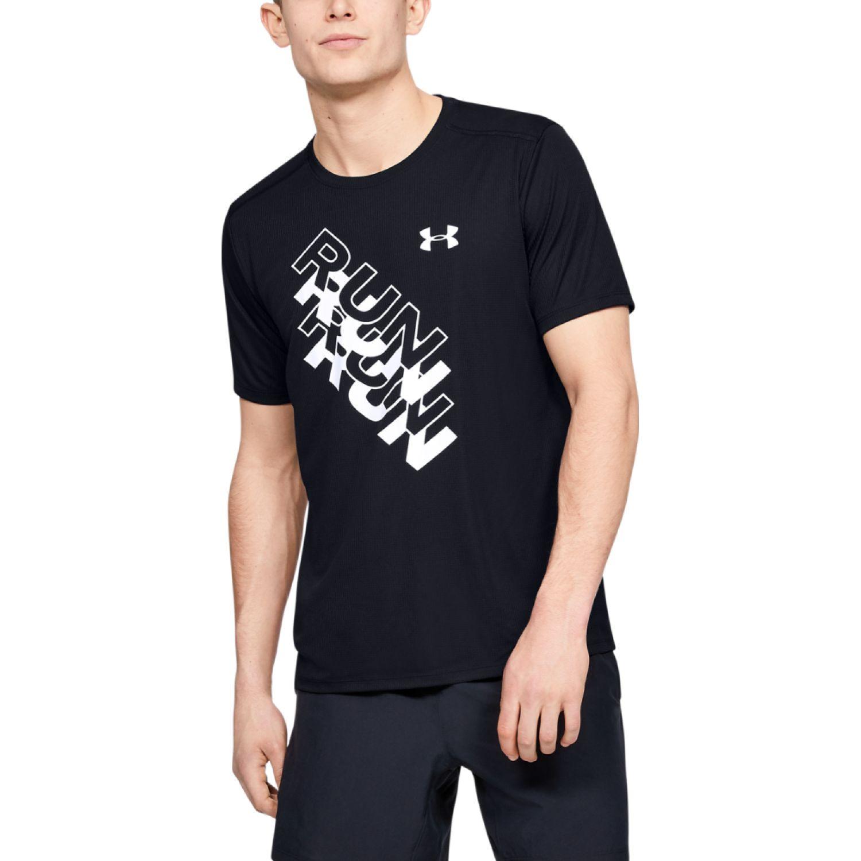 Under Armour UA INTERNATIONAL RUN DAY GX TEE Negro Camisetas y Polos Deportivos