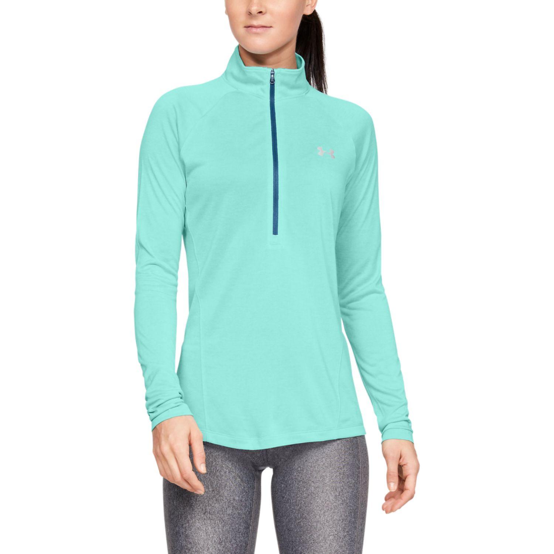 Under Armour Tech 1/2 Zip - Twist Celeste Sweatshirts Deportivos