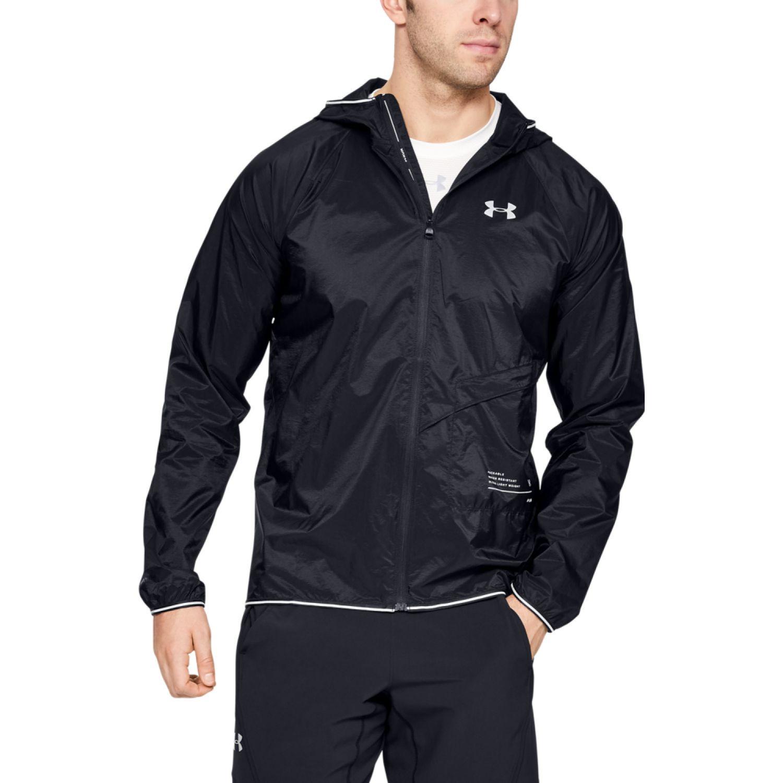 Under Armour ua storm qualifier packable jacket Gris Trinchera y Lluvia