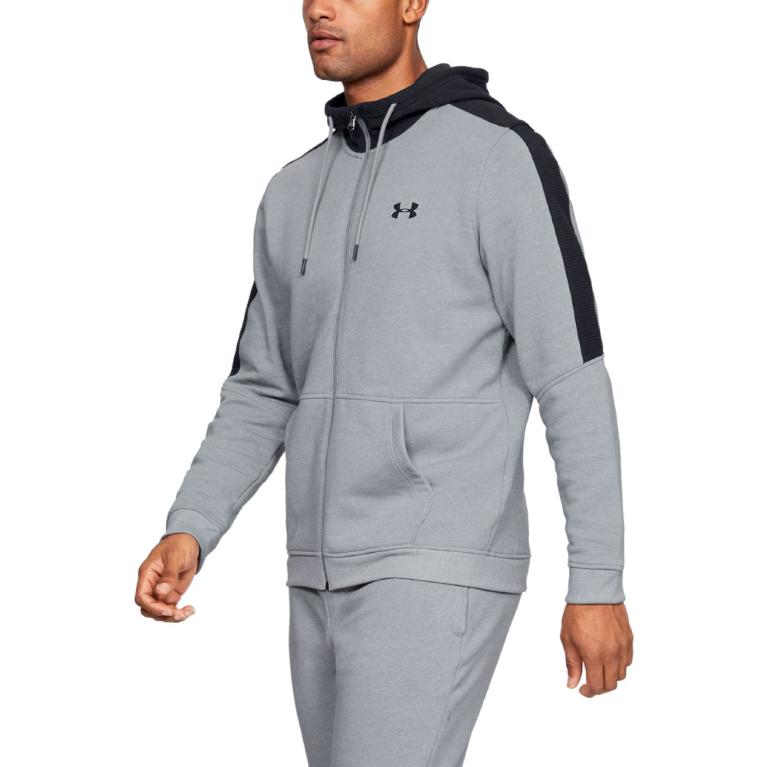 Under Armour microthread fleece fz Gris / negro Hoodies y Sweaters Fashion