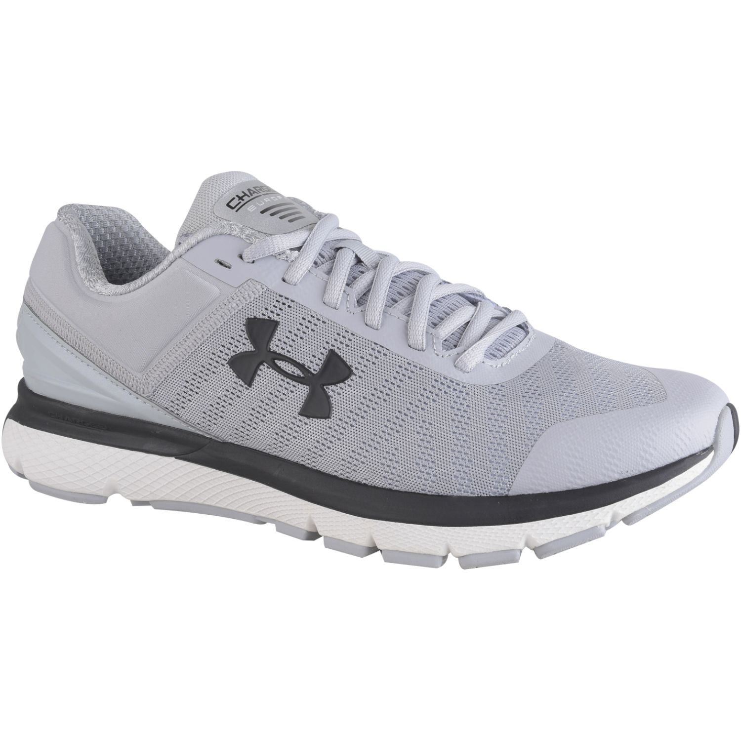 Under Armour UA Charged Europa 2 Gris / negro Running en pista