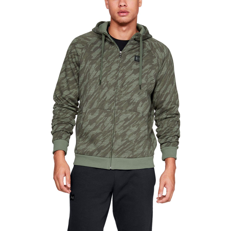 Under Armour rival fleece camo fz hoodie Verde Hoodies y Sweaters Fashion
