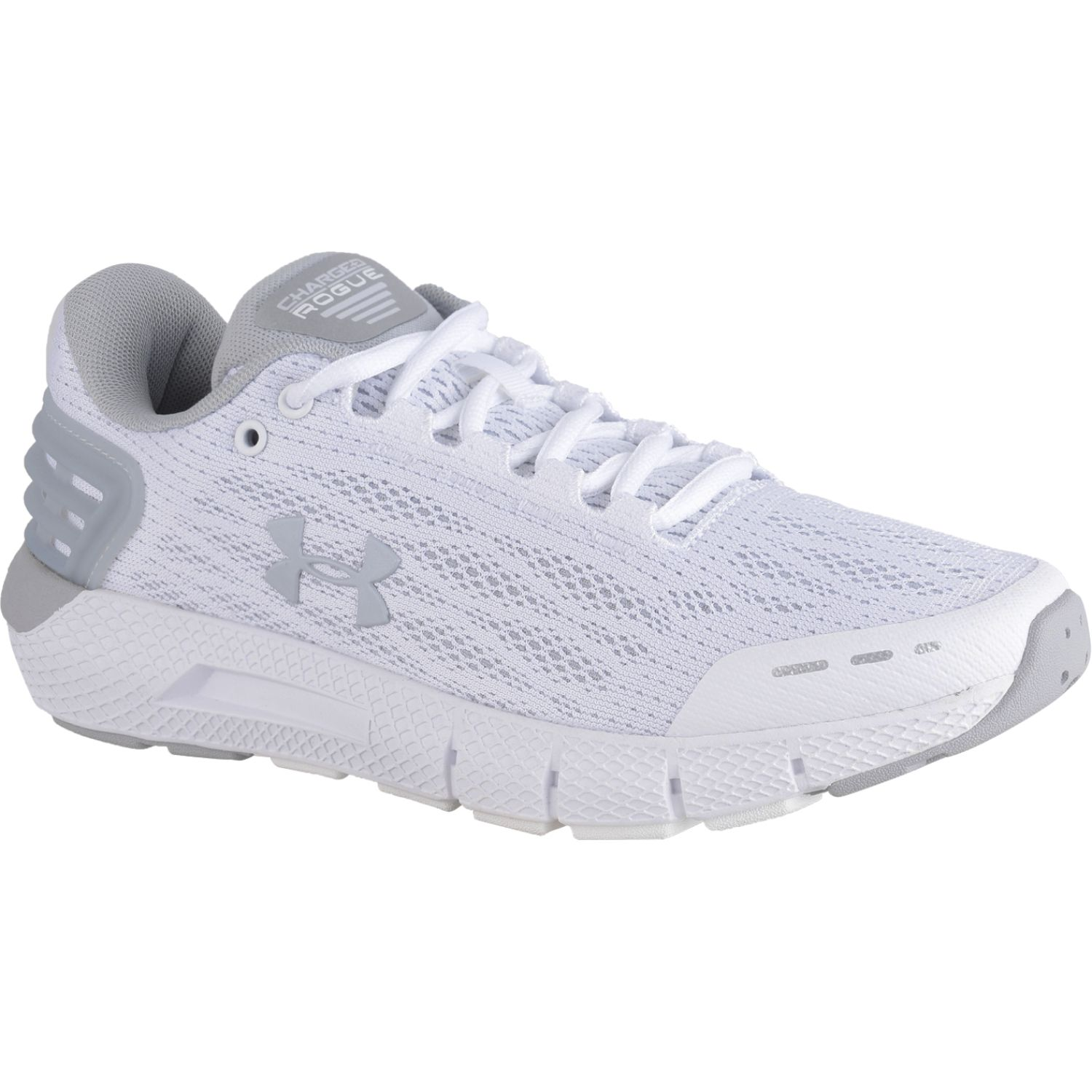 Under Armour ua w charged rogue Blanco Running en pista