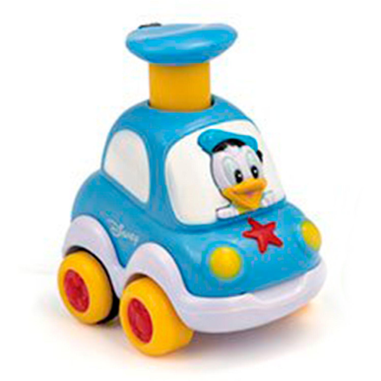 PATO DONALD DB CARRITOS PRESS & GO Celeste Empujar y jalar algún juguete
