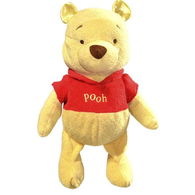 Winnie The Pooh DB WINNIE THE POOH PELUCHE FLEXIBLE AMARILLO / ROJO Juguete Vehicular de RC