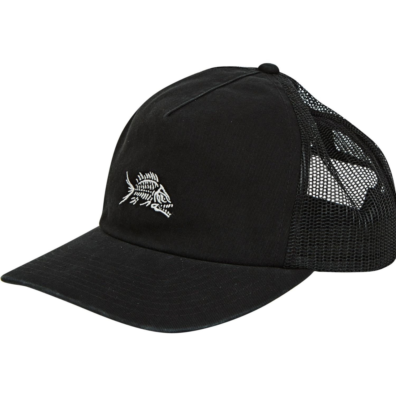 Billabong fauna trucker Negro Gorros de Baseball