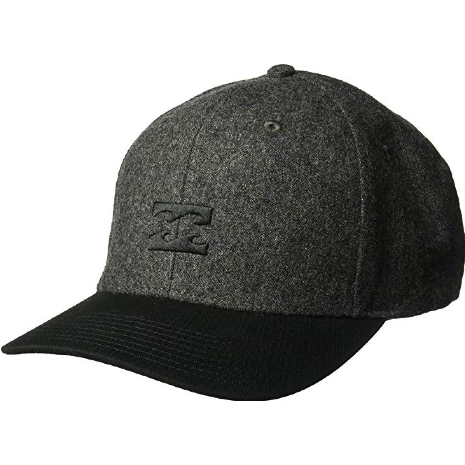 Billabong all day snapback Gris / negro Gorros de Baseball