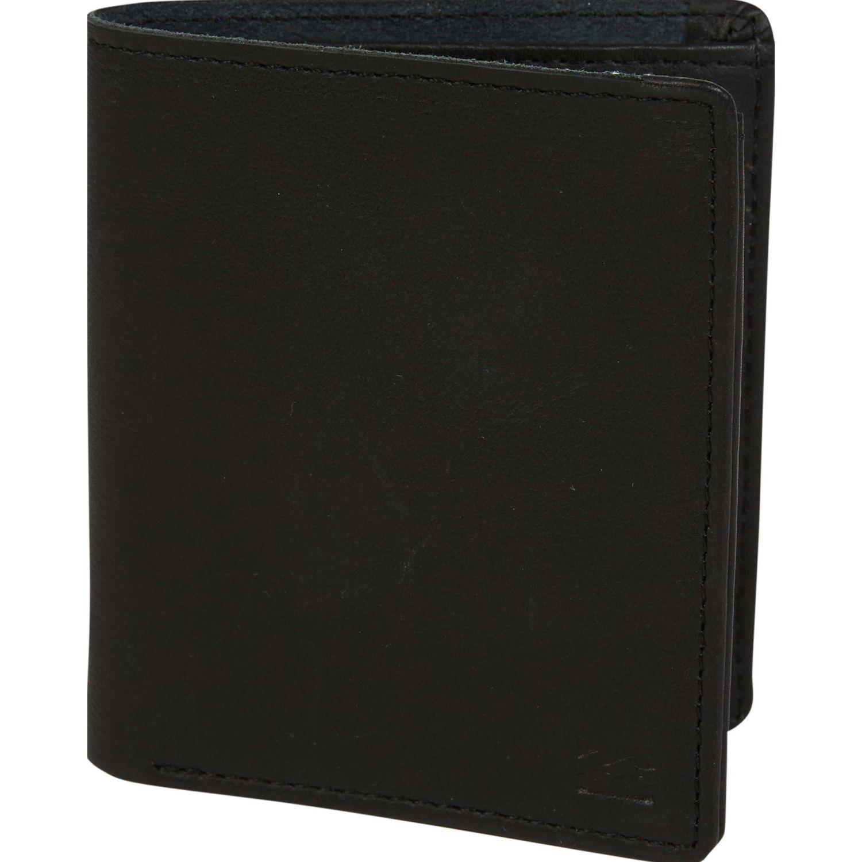 Billabong gaviotas leather Negro Billeteras