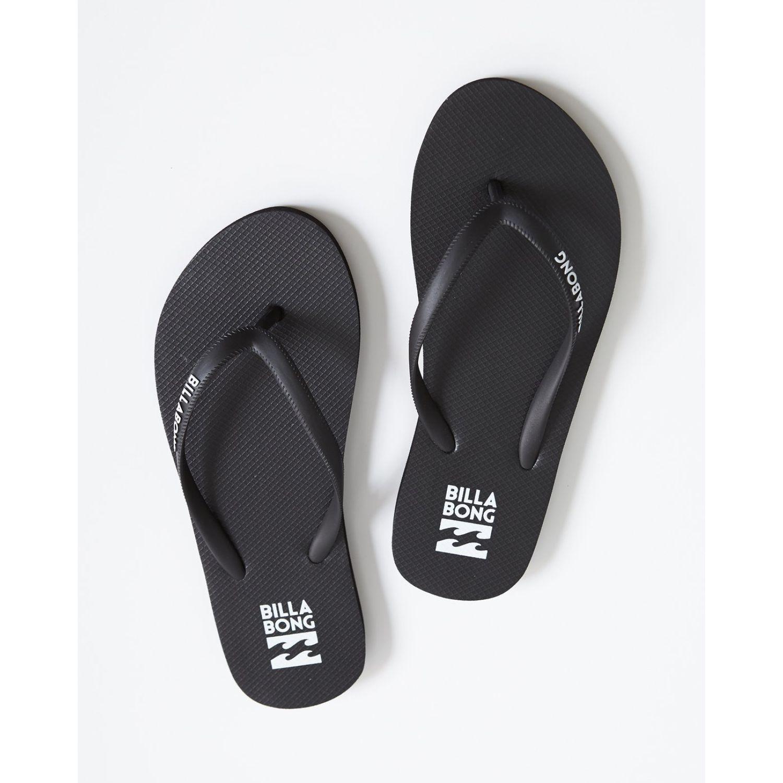 Billabong dama Negro / blanco Sandalias deportivas y slides