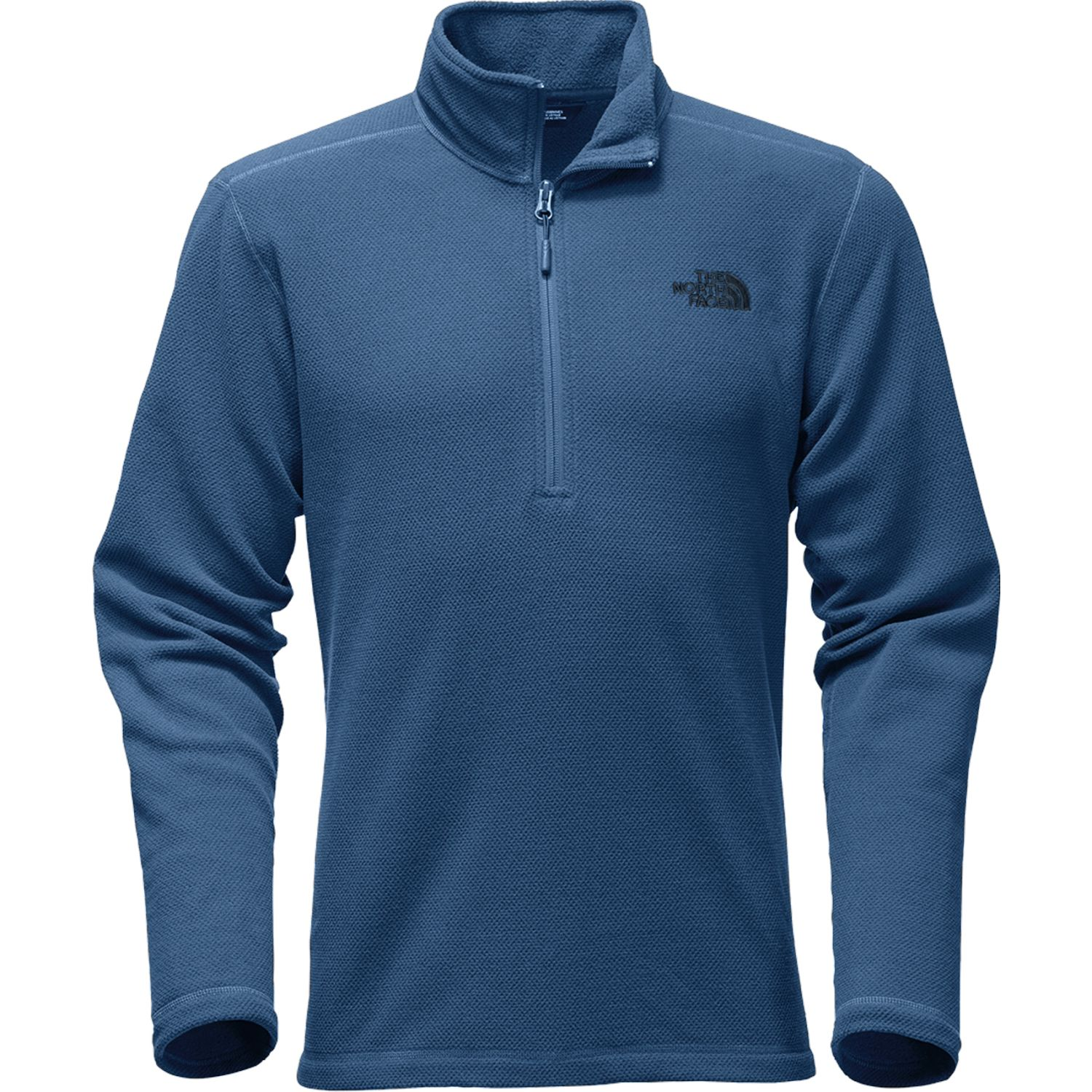 The North Face M TEXTURE CAP ROCK 1/2 ZIP Azul Casacas de Atletismo