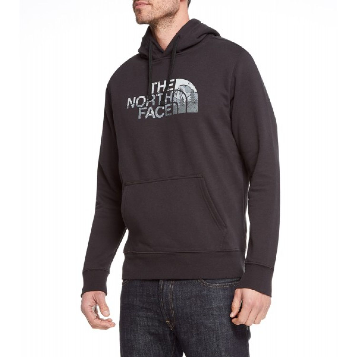 The North Face m half dome pullover hoodie Negro Hoodies Deportivos