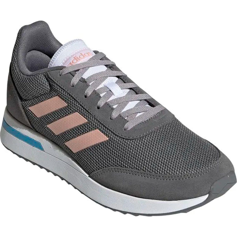 Adidas run70s PLOMO / MELON Running en pista