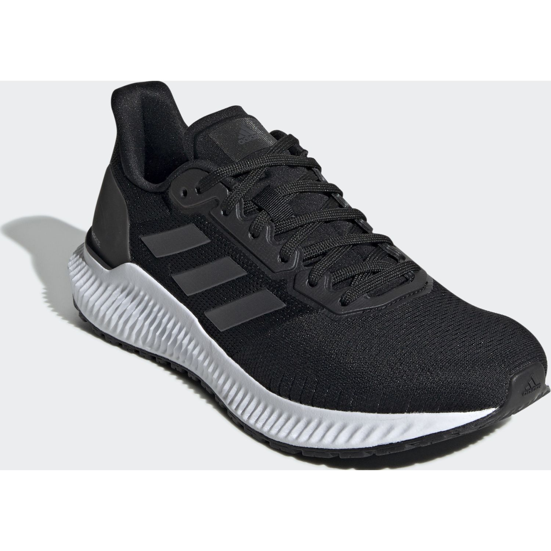 Adidas solar ride w Negro / blanco Running en pista