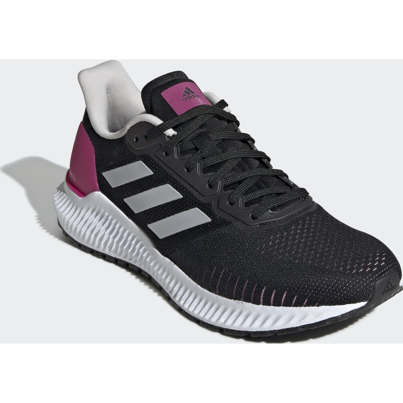 Adidas solar ride w Negro / fucsia Running en pista