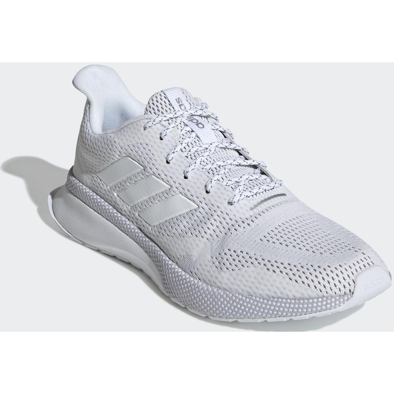 Adidas novafvse x Blanco / gris Running en pista