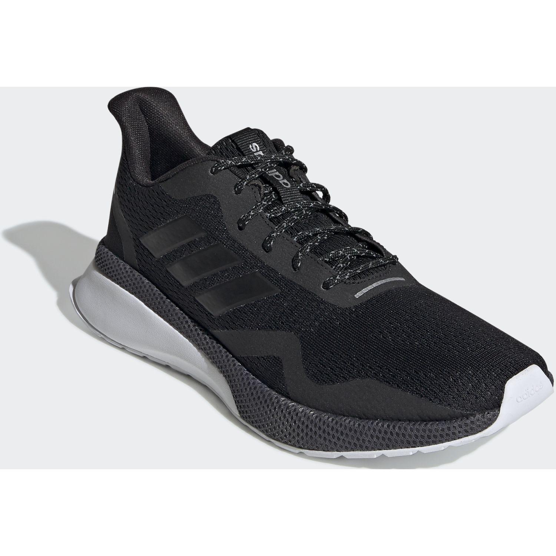 Adidas Novafvse X Negro / blanco Correr por carretera