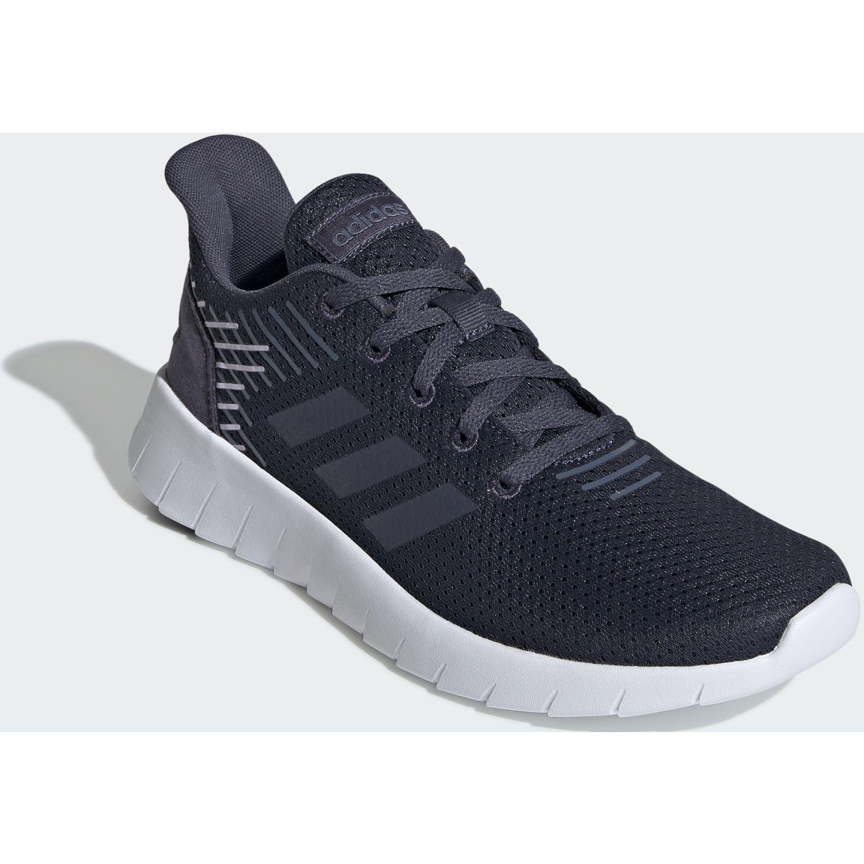Adidas asweerun Navy / Blanco Running en pista