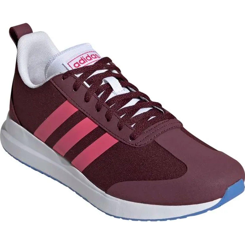 Adidas run60s BURGUNDY / BLANCO Running en pista