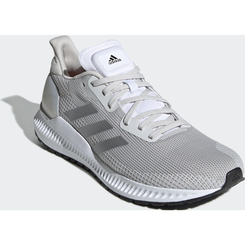 Adidas solar blaze w Gris / blanco Running en pista ...