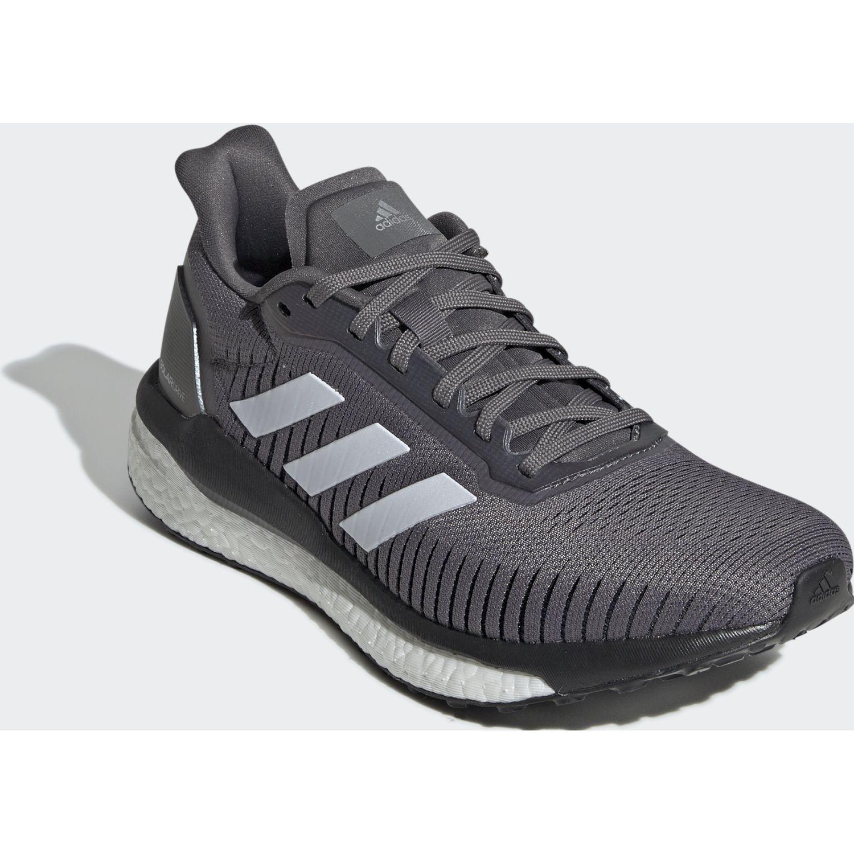 Adidas solar drive 19 w Plomo/blanco Running en pista