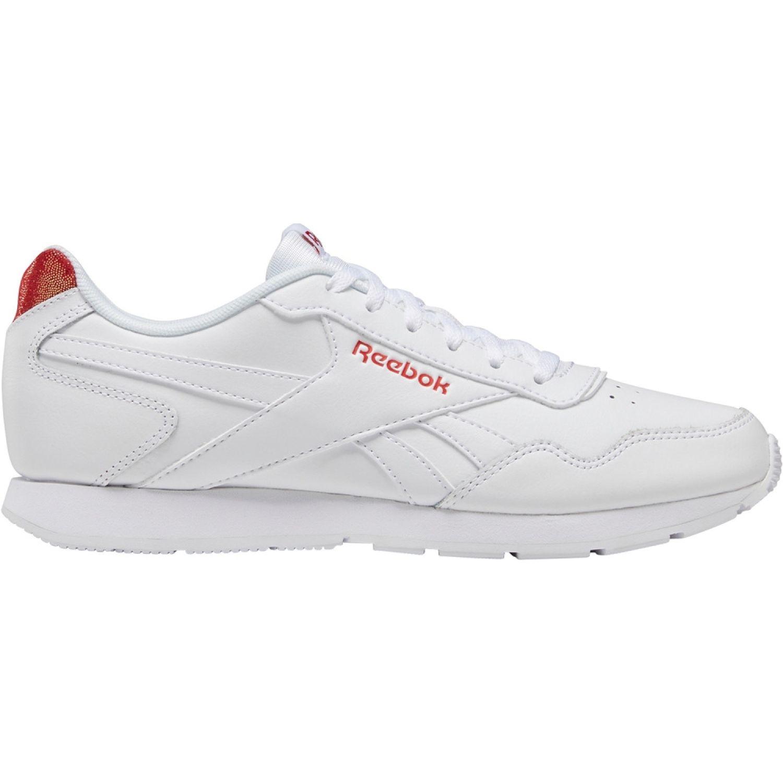 Reebok reebok royal glide Blanco / rojo Running en pista