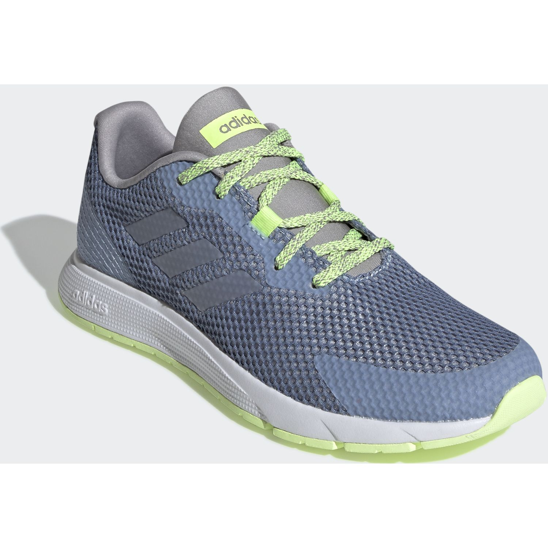 Adidas sooraj Acero / verde Running en pista