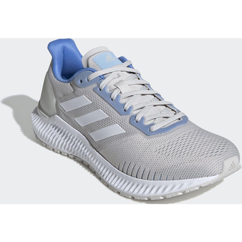 Adidas SOLAR RIDE W Gris / celeste Running en pista