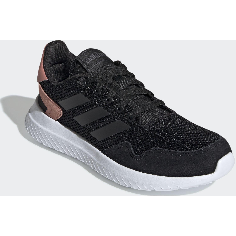 Adidas archivo Negro / coral Running en pista