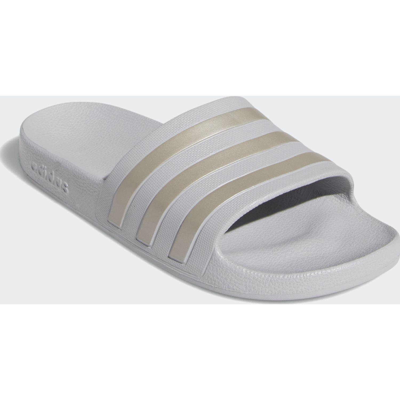 Adidas adilette aqua Gris Sandalias deportivas y slides