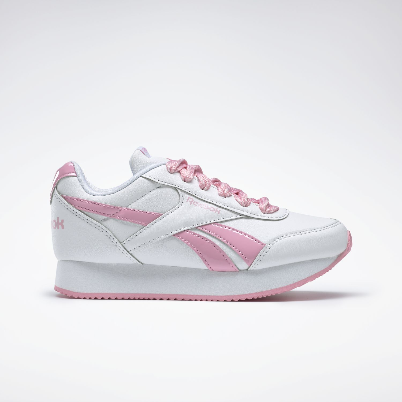 Reebok REEBOK ROYAL CLJOG 2 Blanco / rosado Chicas