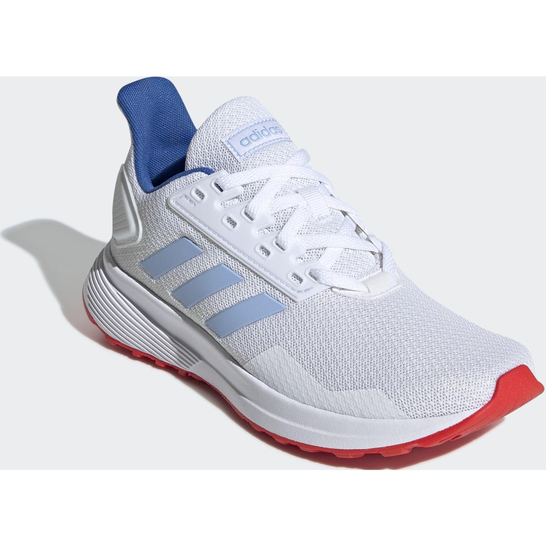 Adidas DURAMO 9 K Blanco / celeste Muchachos