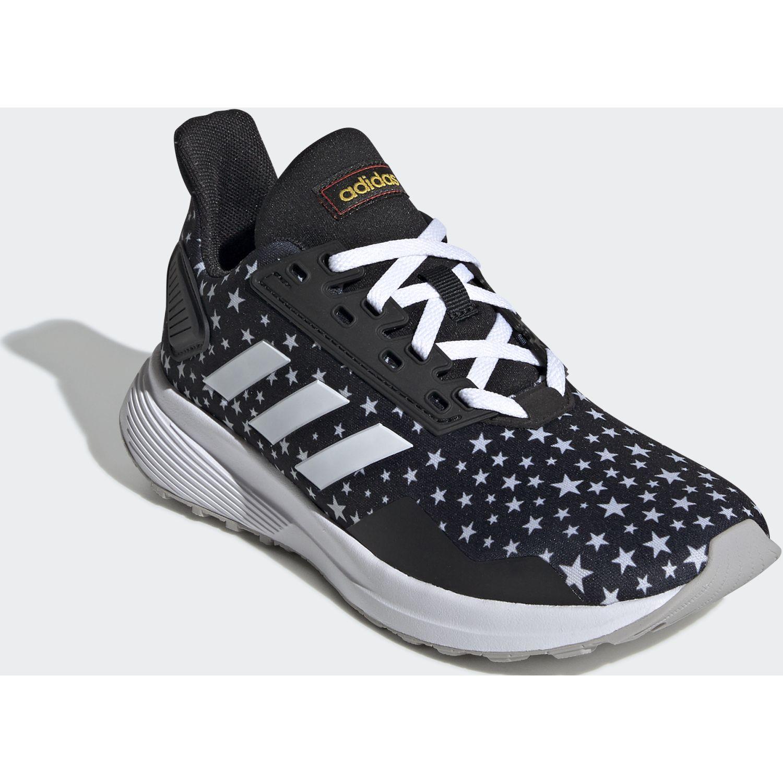Adidas DURAMO 9 K Negro / blanco Chicas