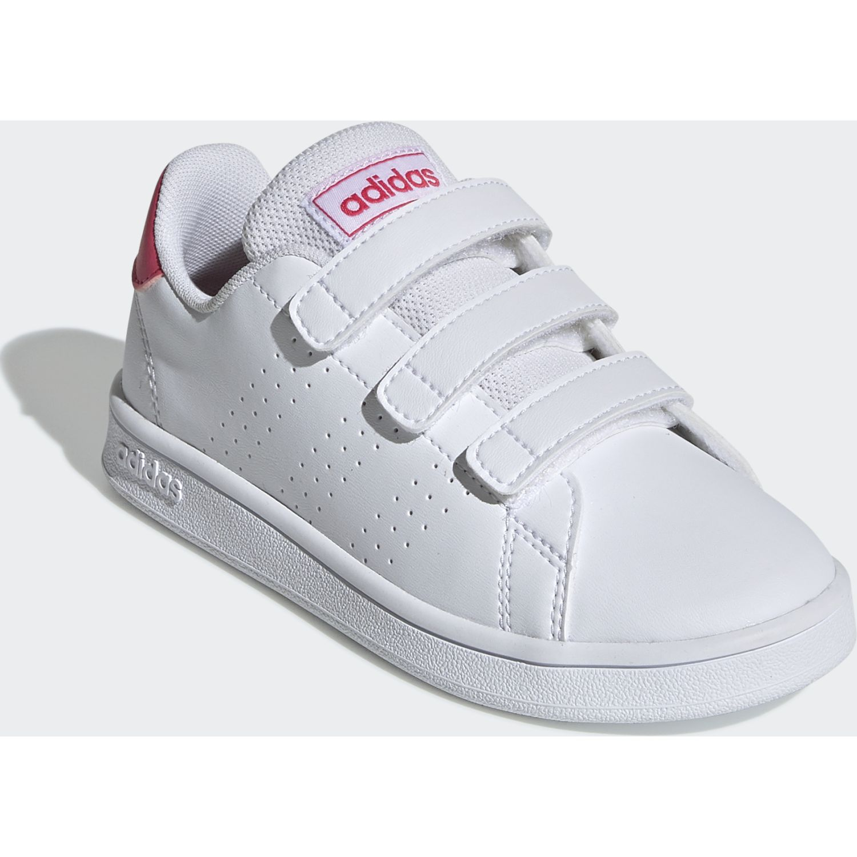 Adidas Clz Djr-Dm Blanco / fucsia Para caminar