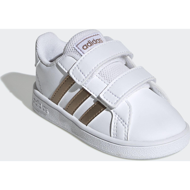 adidas Grand Court I Blanco / dorado Zapatillas