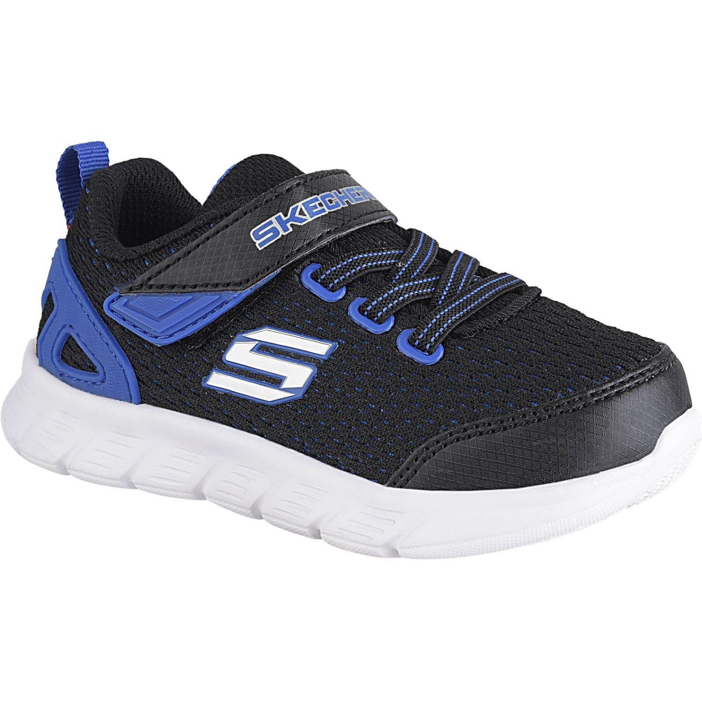 Skechers comfy flex Negro / azul Walking
