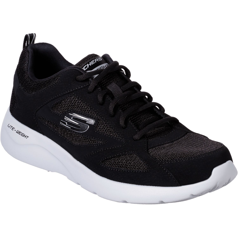 Skechers Dynamight 2.0 Negro / blanco Para caminar