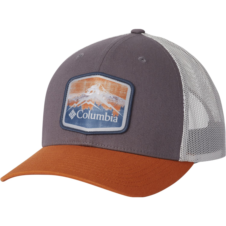 Columbia columbia mesh snap Morado / naranja Gorros de Baseball