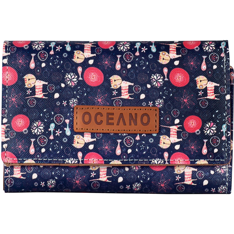 OCEANO billetera bridgett Azul / rosado Monederos
