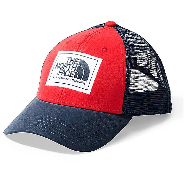The North Face mudder trucker hat Azul / rojo Gorros de Baseball