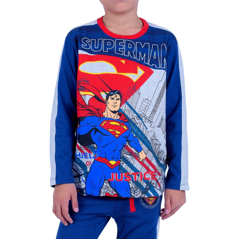 SUPERMAN dcs-0276-a Azul Polos