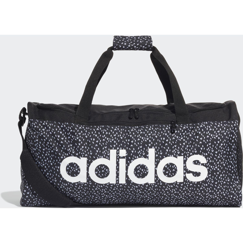 Adidas Lin Duf W Mg Negro Bolsos de gimnasio
