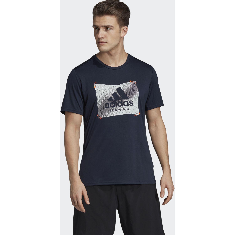 Adidas Otr Bos Gfx Navy Camisetas y Polos Deportivos