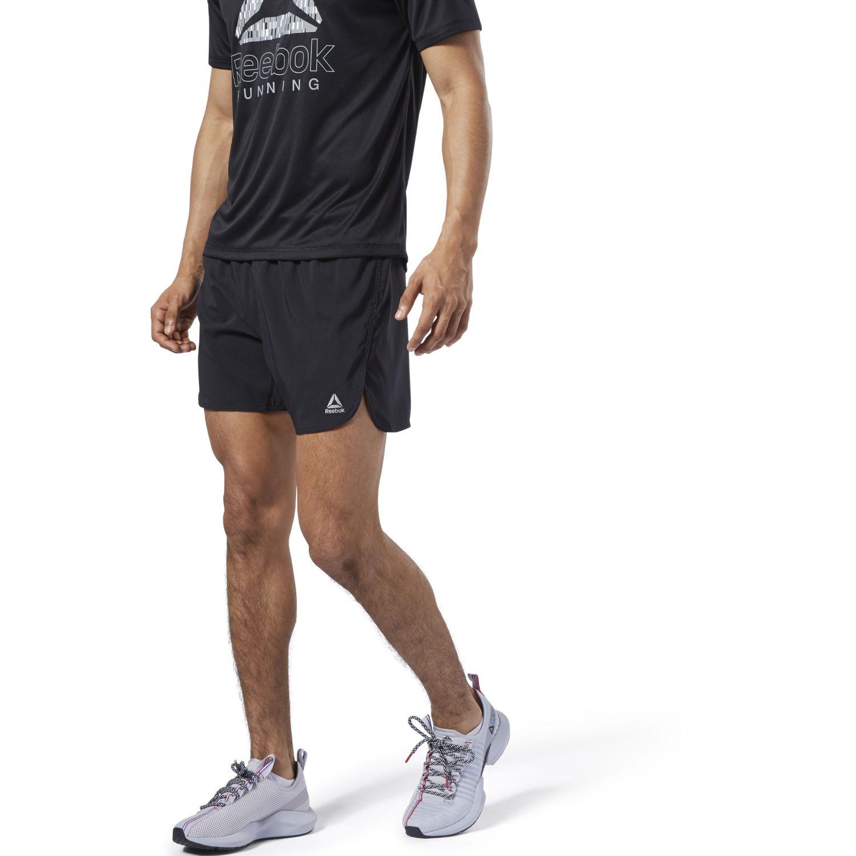 Reebok re 5 inch short Negro Shorts Deportivos