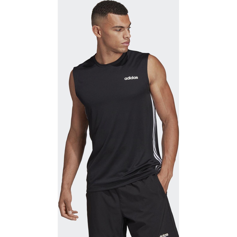 adidas D2m Sl 3s Negro Camisetas y polos deportivos