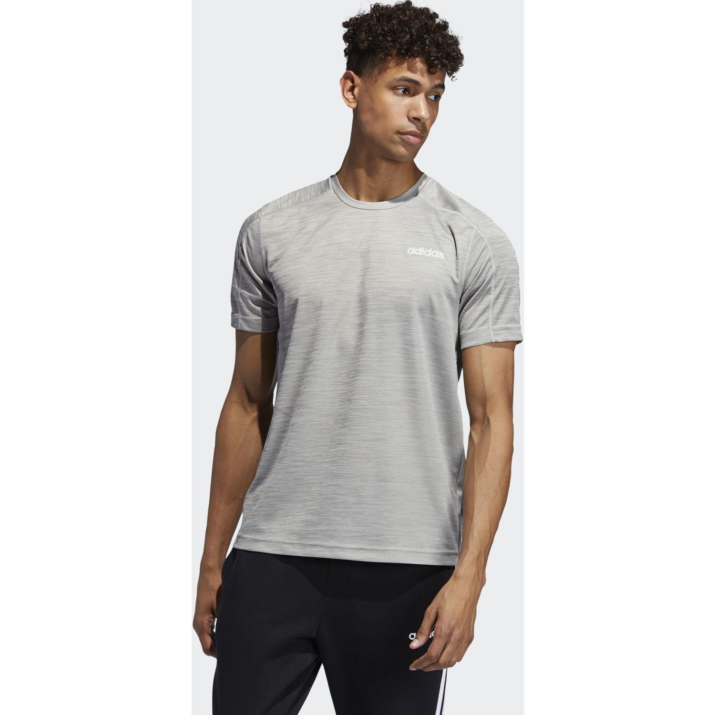 Adidas D2M Tee HT Gris Camisetas y Polos Deportivos
