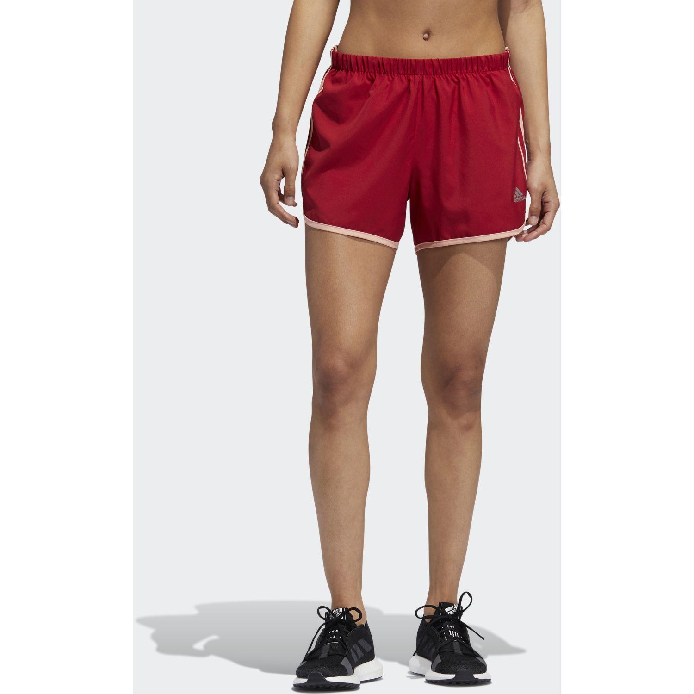 Adidas M20 Short W Rojo Shorts deportivos