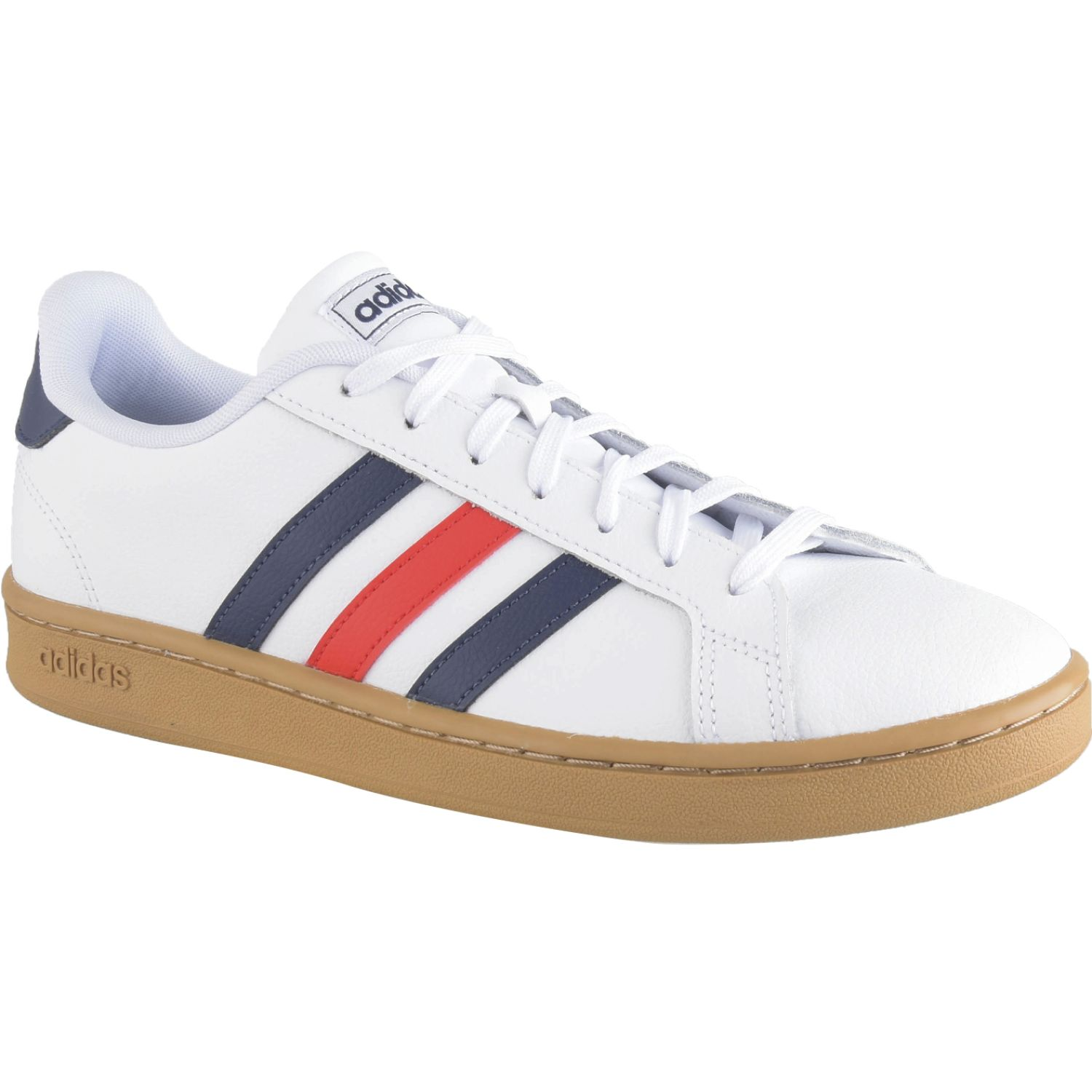 Adidas grand court Blanco / Navy Tennis & Deportes con Raqueta